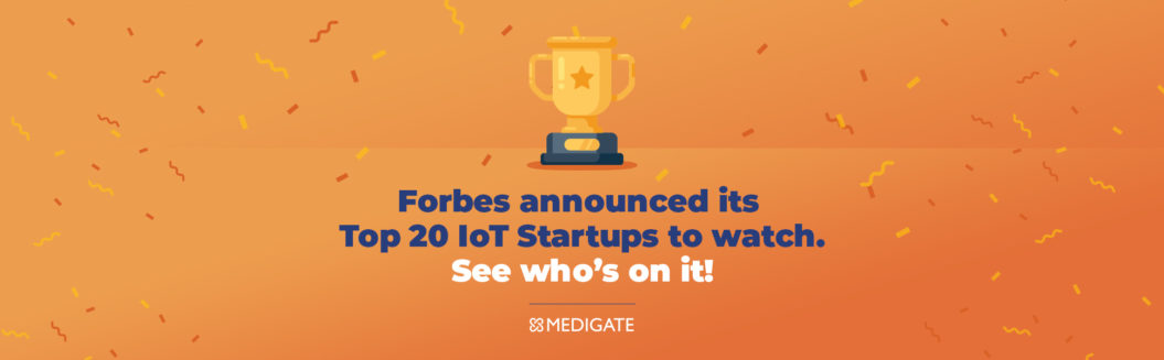 """Forbes Names Medigate """"Top 20 IoT Cybersecurity"""" Company"""